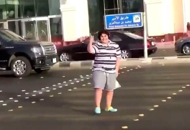 Boy arrested after footage of him dancing in the middle of street goes viral