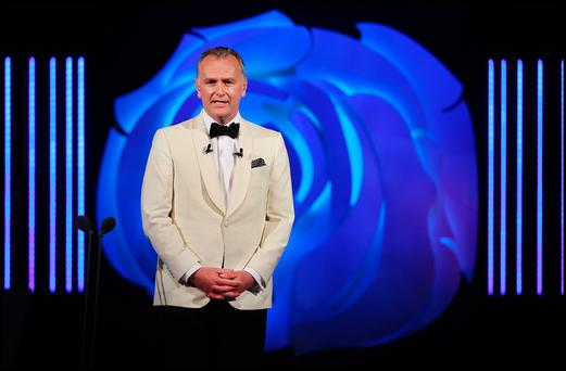 Presenter Daithi O'Se at the Rose of Tralee International Festival in Tralee Co Kerry. Pic Steve Humphreys 21st August 2017