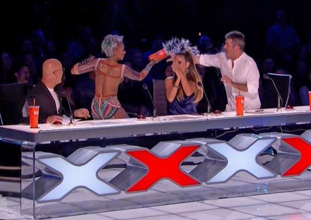 Mel B lashes out at Simon after he makes marriage quip on America's Got Talent