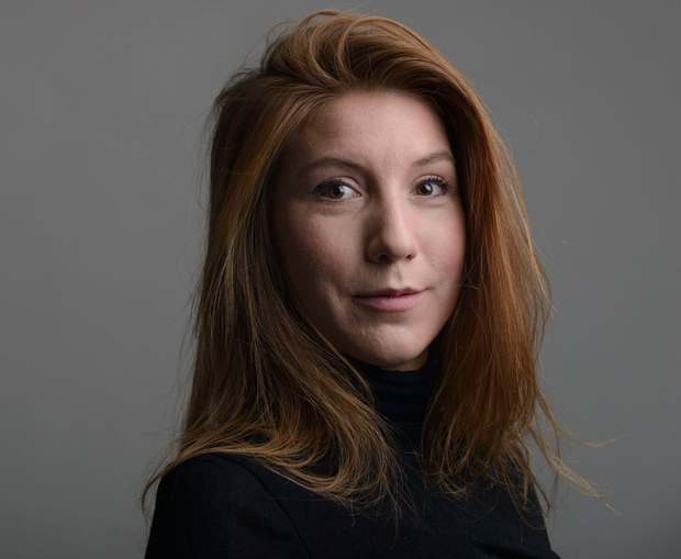 DNA tests have confirmed the torso as that of missing Swedish journalist Kim Wall. Photo: Tom Wall via AP