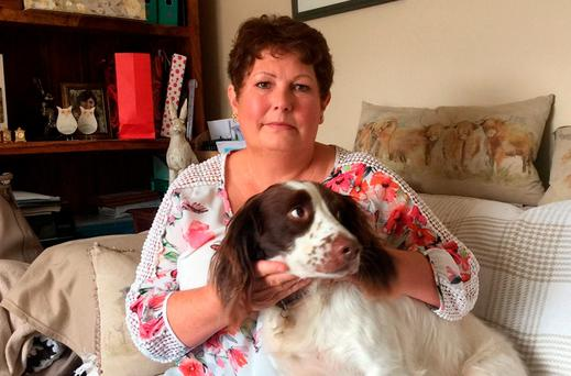 Victim: Sandra Burch. Photo: Gloucestershire Police /PA