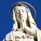 A statue of the Virgin Mary. Stock photo: AFP/GETTY