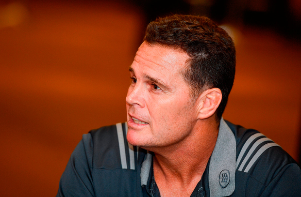 Rassie Erasmus. Photo by Ramsey Cardy/Sportsfile