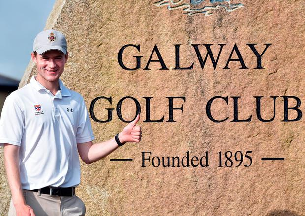 The 19-year-old starlet from Royal Portrush managed to get as far as the semi-finals at Ballyliffin in Co Donegal last year, falling to eventual champion Alex Gleeson. Picture by Pat Cashman