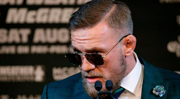 Final Mayweather-McGregor press conference more subdued than fans might expect
