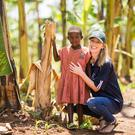 Aideen O'Leary, Bothar person on the ground in Rwanda pictured in the Rwamagana District, Eastern Province, Rwanda . Picture Sean Curtin True Media.