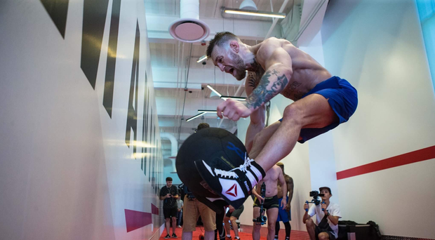 Conor McGregor training. Credit - @TheNotoriousMMA