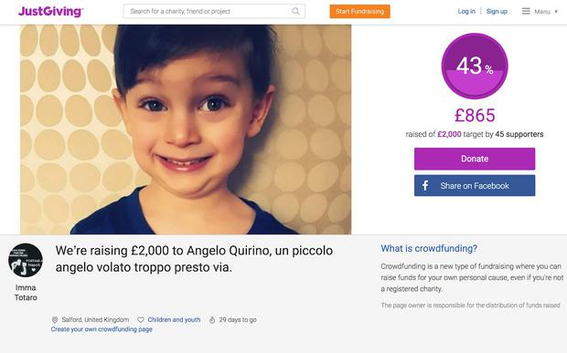 Family friends have set up a fundraising account online