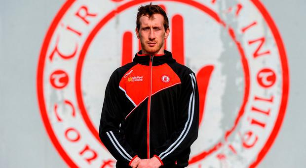 Colm Cavanagh of Tyrone at the county's Centre of Excellence in Garvahey. Photo by Oliver McVeigh/Sportsfile
