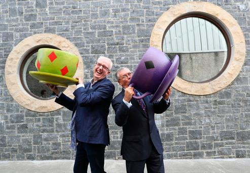 Actor Rory Cowan launched the campaign with RTÉ broadcaster Joe Duffy