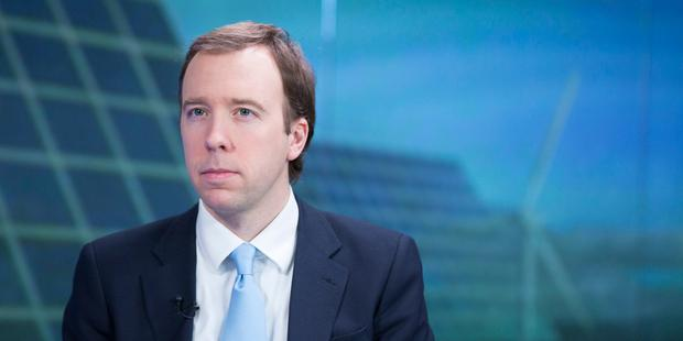 'We want secure flow of data to be unhindered as we leave EU,' said British minister Matt Hancock. Photo: Bloomberg via Getty Images