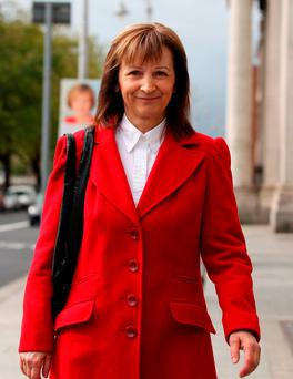 Gina Farrell was previously sued by developer Seán Dunne for overcharging his company for cleaning an apartment complex. Picture: Courtpix