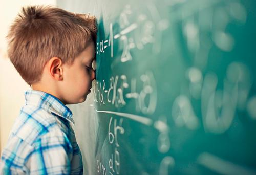 Facing their anxiety: Many children will be dreading going back to class