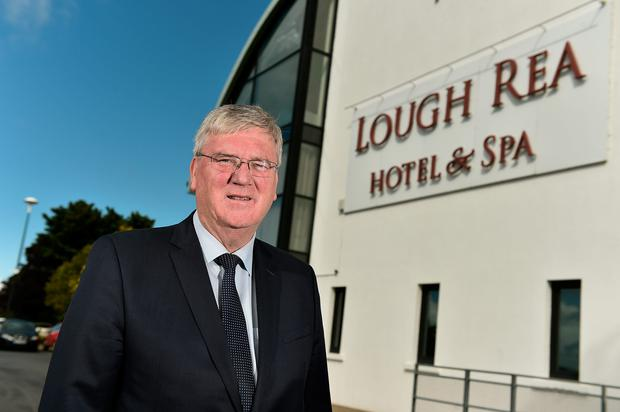 Pat McDonagh at the Loughrea Hotel & Spa in Loughrea, Co Galway. Photo: David Maher/Sportsfile