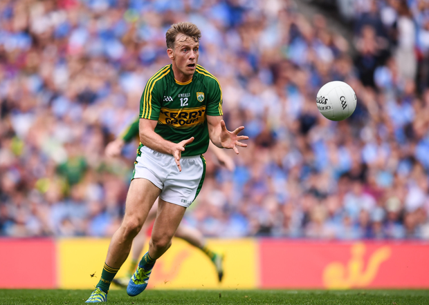 Donnchadh Walsh of Kerry during the GAA Football All-Ireland Senior Championship Semi-Final match between Dublin and Kerry at Croke Park in Dublin. Photo by Stephen McCarthy/Sportsfile