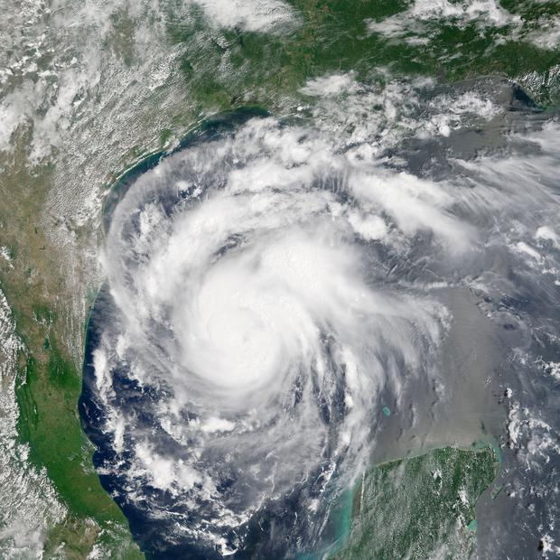 This satellite image provided by NASA on Thursday