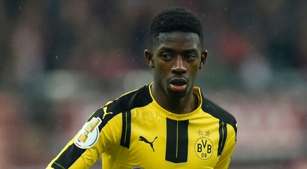 Ousmane Dembele is under contract with Dortmund until 2021. Photo: Getty Images