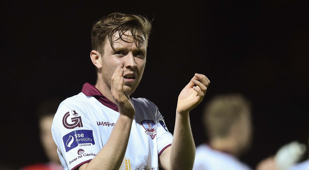 Conor Melody of Galway United after the Irish Daily Mail FAI Cup Second Round match between St. Patrick's Athletic and Galway United at Richmond Park, in Dublin. Photo by Matt Browne/Sportsfile