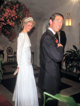 Diana with Charles. Photo: Getty