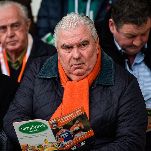 Joe Kernan went through five championship replays during his six years in charge of Armagh - winning them all Photo: Sportsfile
