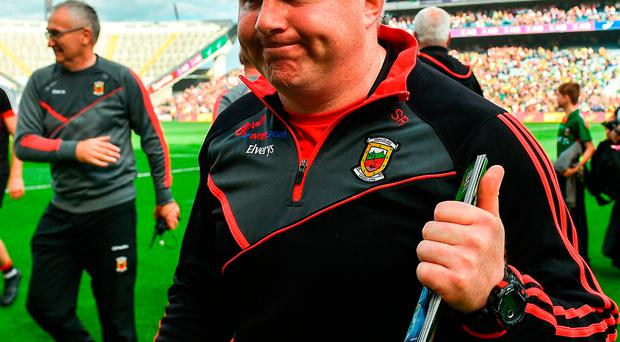 Mayo manager Stephen Rochford following their victory