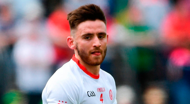 Pádraig Hampsey has come from nowhere to be a vital cog in the Tyrone machine. Photo: Ramsey Cardy/Sportsfile