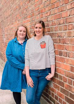 Oh My God, What a Complete Aisling (OMGWACA) writers Sarah Breen and Emer McLysaght