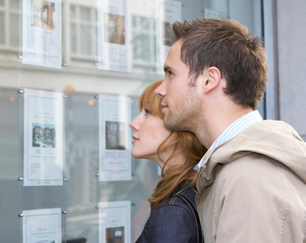 The tweet was simply about a couple doing something which people have done for ever to save up for a house. (stock picture)