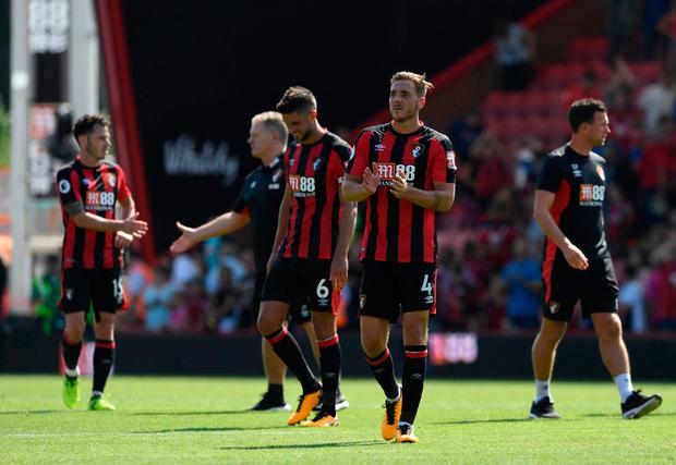 Bournemouth's Dan Gosling after the match Photo: REUTERS/Tony O'Brien
