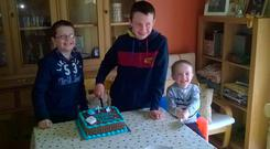 Brothers Niall, Liam, and Ryan