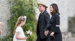 Bono and his wife Ali arrive All photos: Mark Condren