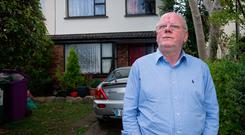REPOSSESSION: Joe Tiernan says he was shocked when a team of court sheriffs arrived at 6am. Photo: Tony Gavin