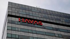 'Havas, which was little changed Friday at €9.24 before the report, is up 15pc this year.' Photo: Getty