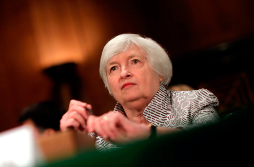 Federal Reserve Chair Janet Yellen Photo: Reuters