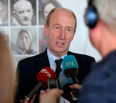 Shane Ross TD, Minister for Transport, Tourism and Sport. Photo: Robbie Reynolds