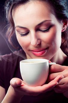 Plant compounds found in coffee are good for health. Stock image