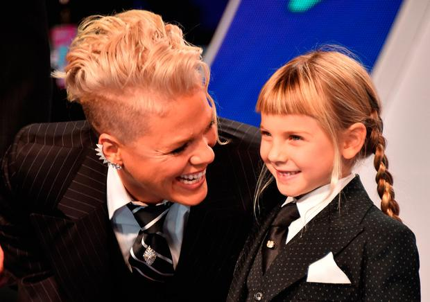 Singer Pink is raising her children gender neutral