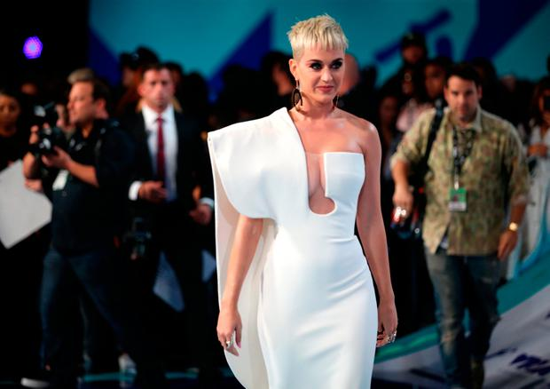 Katy Perry attends the 2017 MTV Video Music Awards at The Forum on August 27, 2017 in Inglewood, California. (Photo by Phillip Faraone/Getty Images)