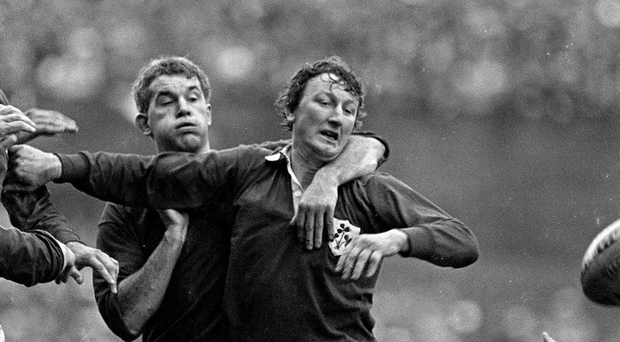 Willie Duggan, Ireland. Five Nations Rugby Championship, Ireland v Wales, Lansdowne Road, Dublin. Picture credit: Ray McManus / SPORTSFILE