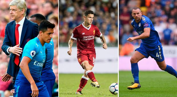 Sanchez, Coutinho and Drinkwater
