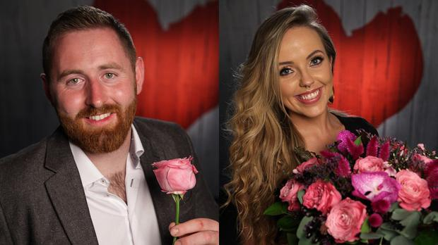 George and Amanda on First Dates Ireland