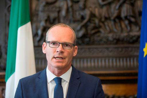Foreign Minister Minister Simon Coveney Picture: Mark Condren