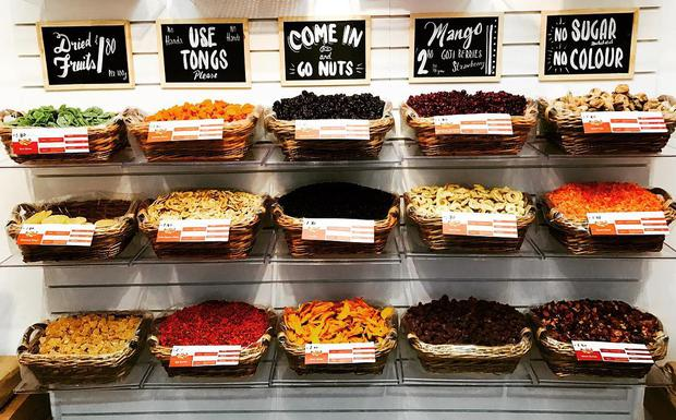 Nutty Delights in George's Street Arcade, Dublin. Photo: Instagram/ @nuttydelightsdublin