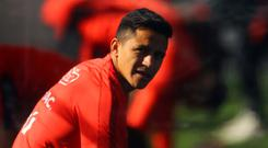 Alexis Sanchez is on international duty in Chile