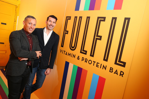 Tom Gannon and Niall McGrath - co-founded the business in early 2016