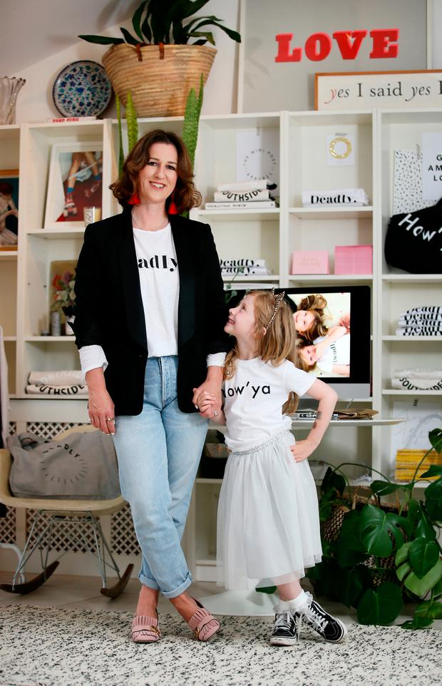4619a8b04 Founder and creative director of The Mini Post Apparel & Goods, Orlagh  O'Reilly