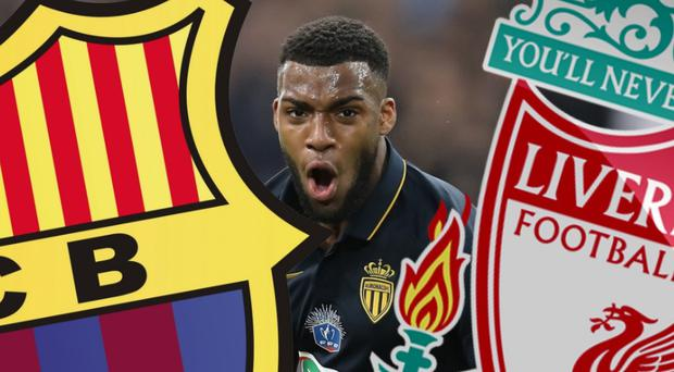 Will Thomas Lemar end up at the Nou Camp or Anfield?