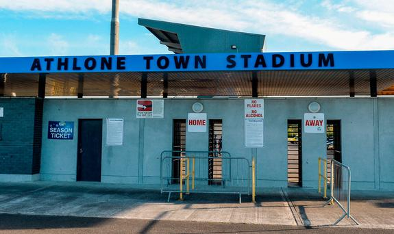 Athlone Town Soccer Club is set to get a new Astro Turf Photo: Oliver McVeigh/Sportsfile