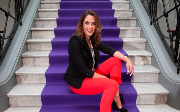 Sarah McInerney at TV3's new season launch at The National Concert Hall. Picture: Gareth Chaney Collins
