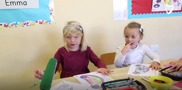 An array of emotions on display at Shellybanks Educate Together School in Dublin